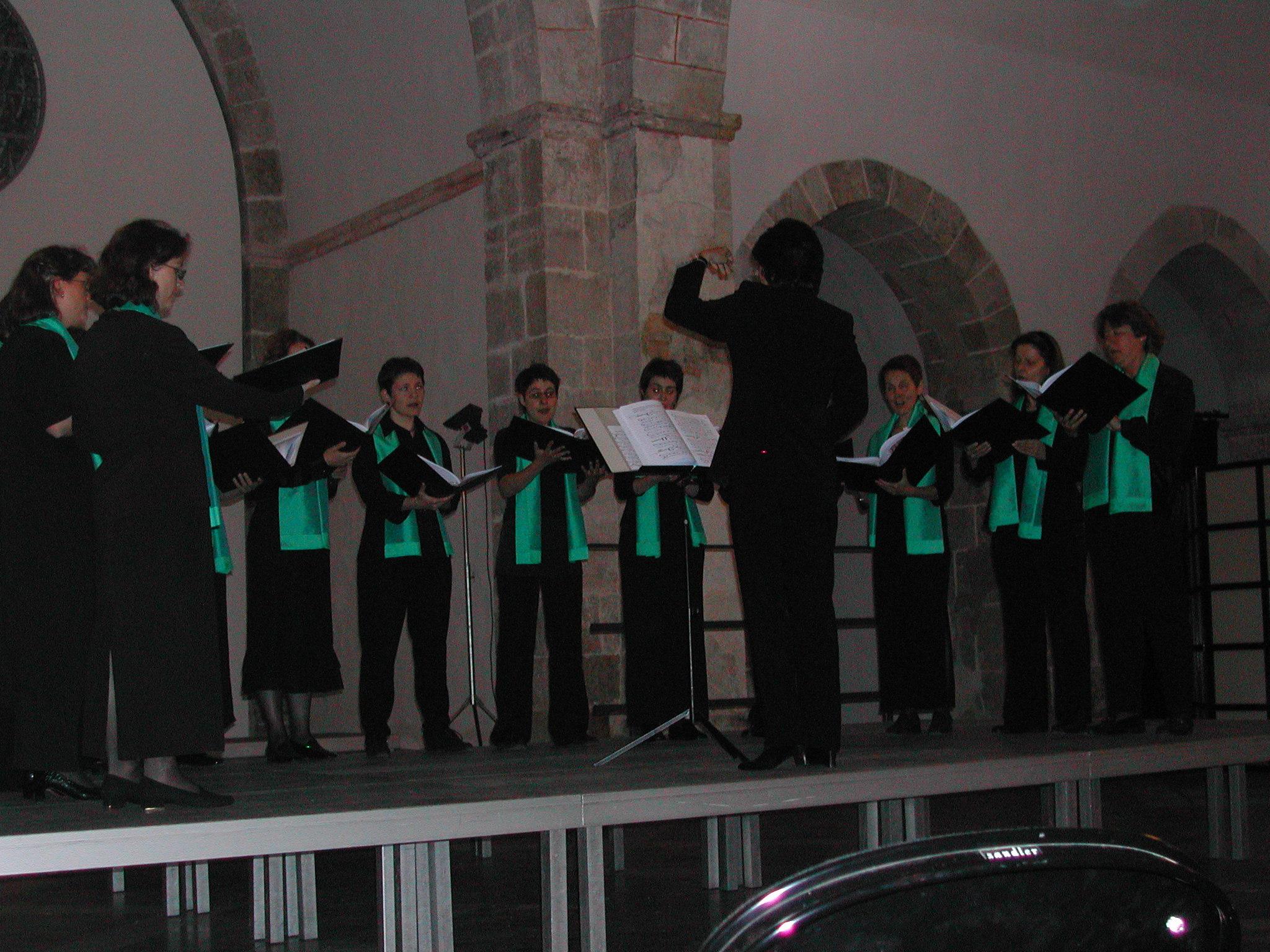 Bonmont, fête de la musique 19.06.04